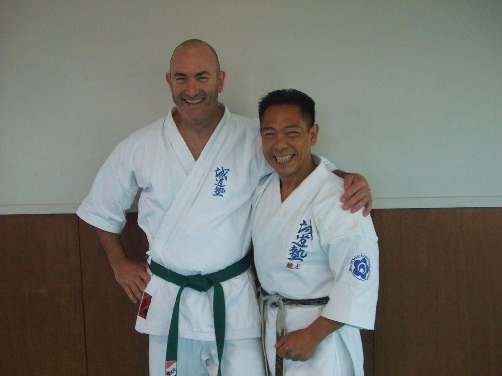 Dons Green belt grading 2012