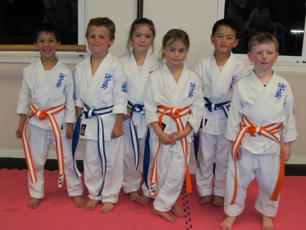 Junior White Belt Grading