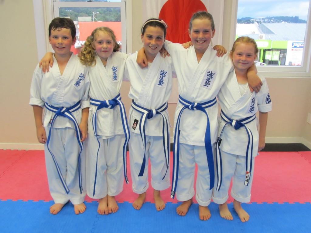 Blue Belts Dec 2013