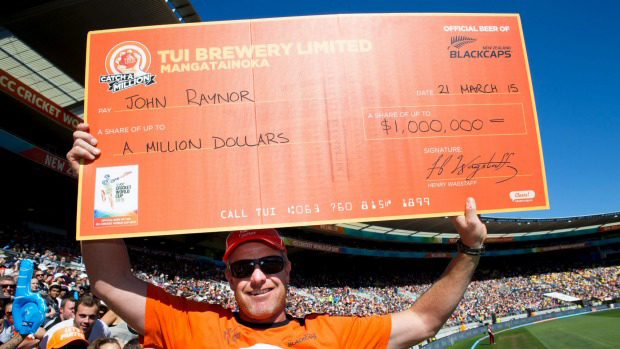 Amazing Dads John Raynor - Catch a Million 21st March 2015